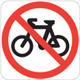 No bicycles - see page text for details